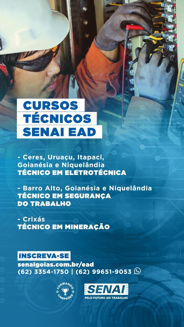 MATRÍCULAS - CURSOS TÉCNICOS DE NÍVEL MÉDIO SEMI PRESENCIAL 1